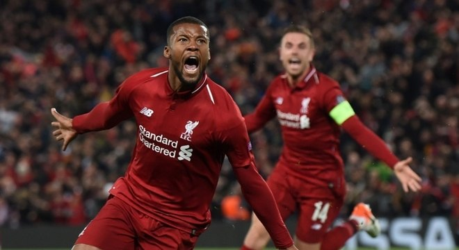 Liverpool considera que perdeu a batalha para manter Wijnaldum no clube