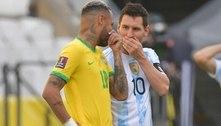 Argentina teve pedido para usar atletas negado pelo Ministério da Saúde 50 minutos antes de partida