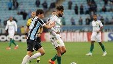 Grêmio fica 2 vezes atrás, empata com o Cuiabá, mas segue no Z4