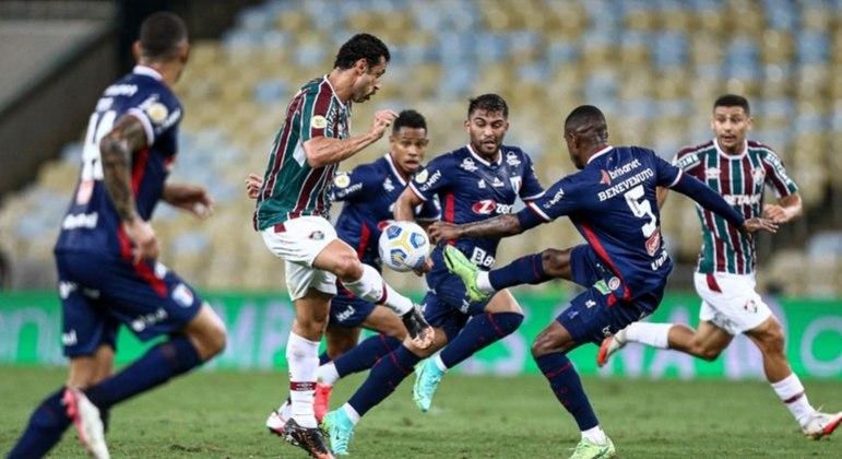 Fred não conseguiu ajudar o Fluminense a vencer pelo Brasileirão
