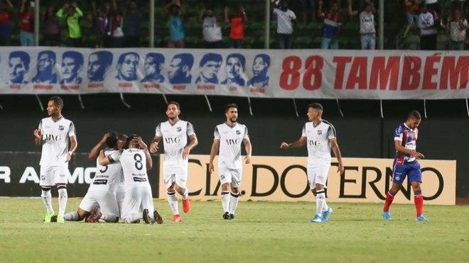 Ceará: 15° colocado - 33 pontos - Fortaleza x Ceará (10/11) / Chapecoense x Ceará (16/11) / Botafogo x Ceará (07/12)
