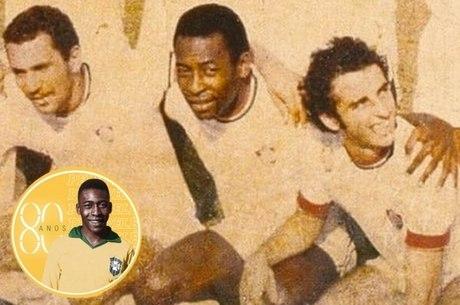 Com Pelé, Fluminense enfrentou o Racca Rovers
