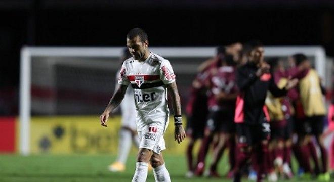 Na última quarta, o São Paulo foi eliminado da Sul-Americana pelo Lanús, da Argentina