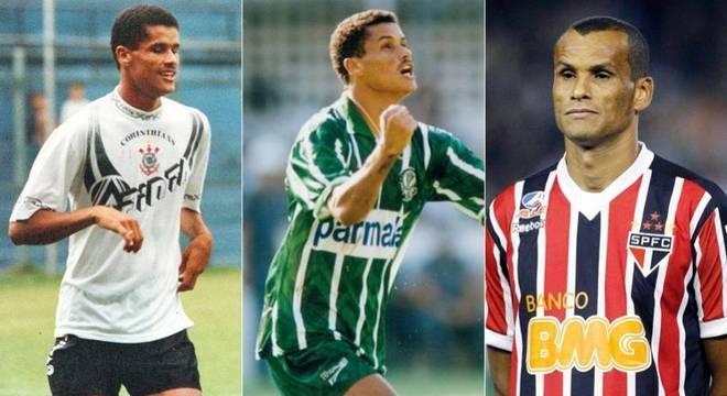 Rivaldo faz parte da lista de jogadores que atuaram em três grandes de SP