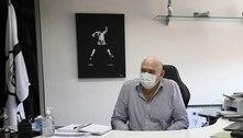 Presidente do Santos desconversa sobre saída de Cuca