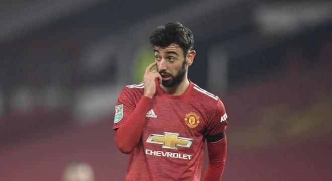 B. Fernandes cita insatisfação no Manchester: 'Não é suficiente'
