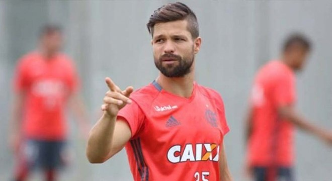 Diego é dúvida no Flamengo para o jogo de quinta contra a Ponte Preta