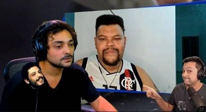 Eduardo Sterblitch pediu para Babu Santan trocar a camisa do Flamengo