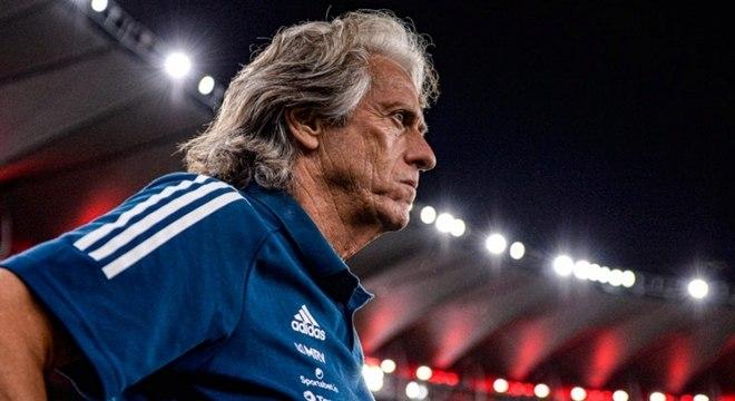Jorge Jesus pode estar vivendo seus últimos dias como técnico do Flamengo