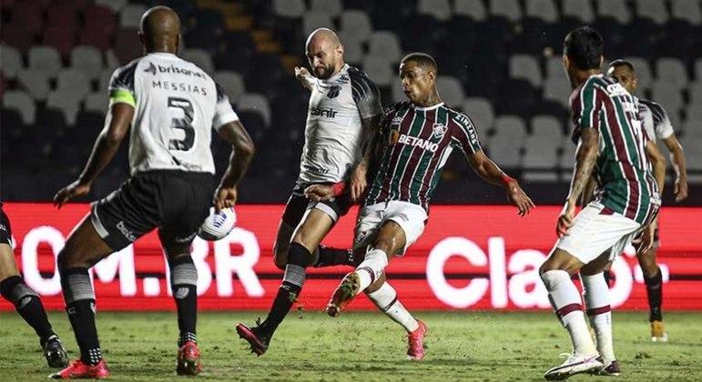 Fluminense e Ceará fizeram um jogo bastante disputado em São Januário