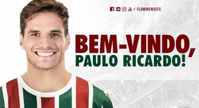 Fluminense oficializa a contratação do zagueiro Paulo Ricardo ... 536c8f11bfca7