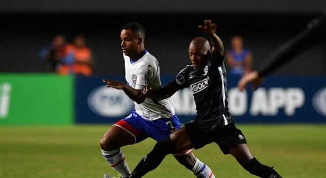 O Bahia venceu o jogo de ida por 2 a 0 e pode perder por um gol de diferença