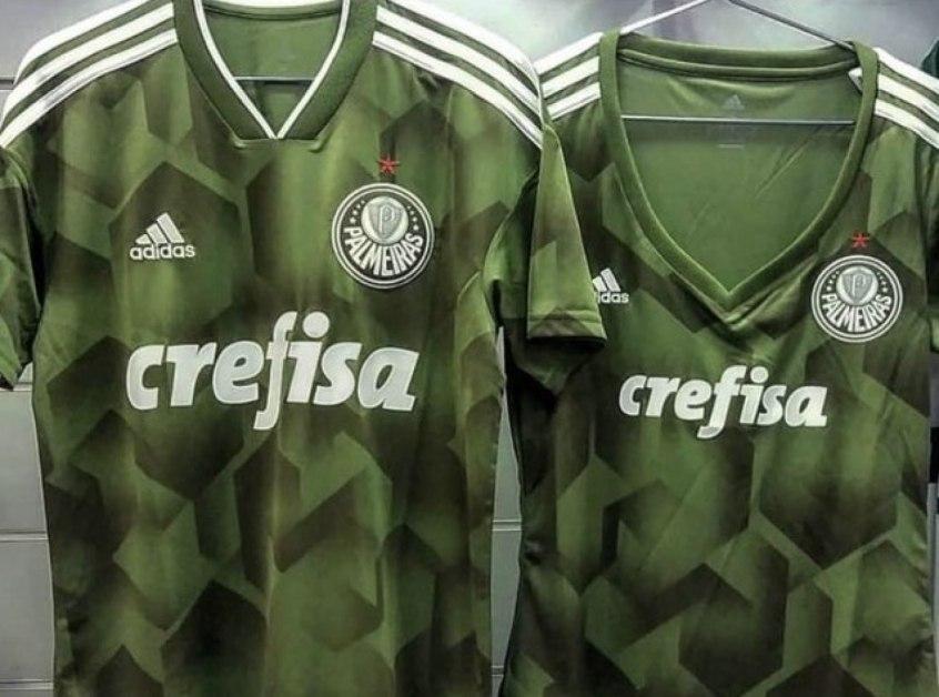 Novo verde! Veja foto da nova terceira camisa do Palmeiras - Esportes - R7  Futebol 4ff60c7e1dc1c