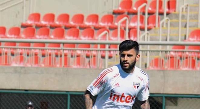 Liziero pode ser a novidade do São Paulo contra o Goiás