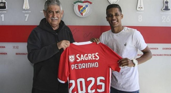 Pedrinho é uma das esperanças do Benfica para a próxima temporada