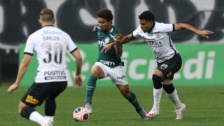 Corinthians e Palmeiras fizeram jogo morno na primeira partida da final
