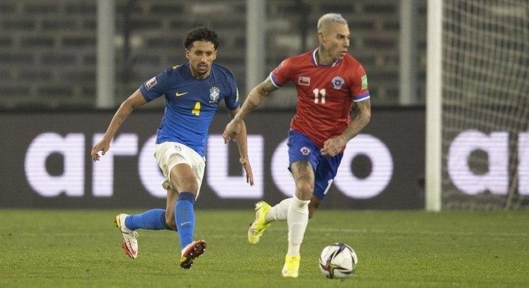 Marquinhos é titular absoluto da seleção brasileira do técnico Tite
