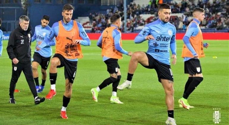 Arrascaeta sentiu dores na partida do Uruguai contra a Colômbia