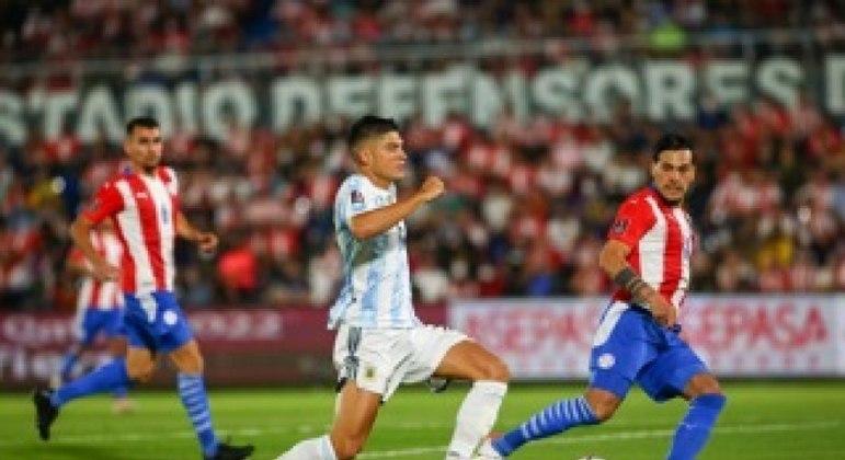 Argentina empatou em 0 a 0 fora de casa com Paraguai