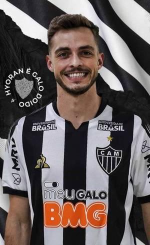 Hyoran jogará no Atlético-MG