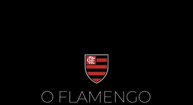 Imagem postada pelo Flamengo em suas redes sociais