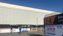 Estádio do Corinthians inicia vacinação em drive-thru contra a Covid-19