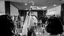 Flamengo realiza missa na Gávea em homenagem às vítimas do incêndio no Ninho do Urubu