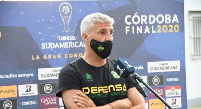 Crespo foi campeão da Copa Sul-Americana com o Defensa y Justicia