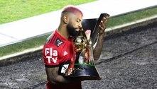 Gabigol suspenso por cartões amarelos? Entenda a situação do atacante na Supercopa do Brasil