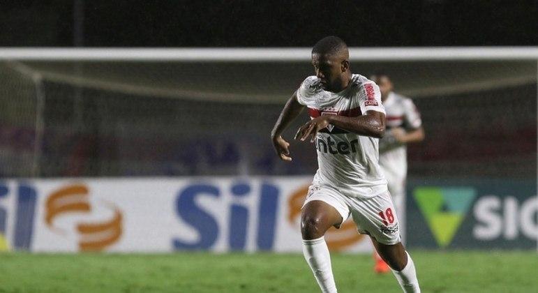 Toró teve bons momentos com a camisa do São Paulo em 2020