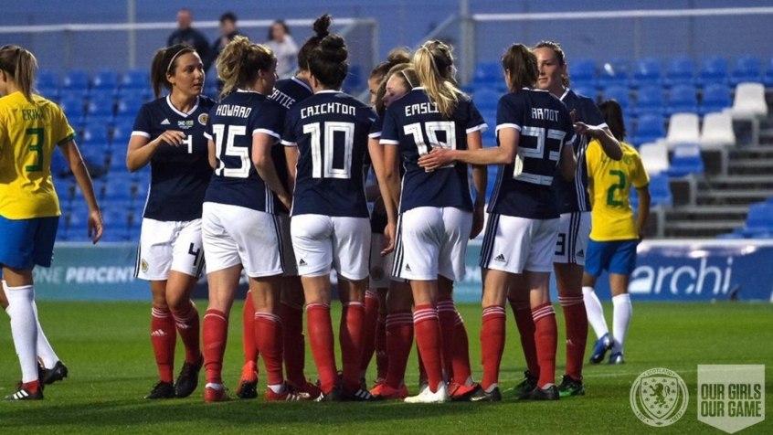 285938a2b7d7b Brasil perde para Escócia em último amistoso antes de Mundial feminino -  Esportes - R7 Lance