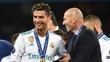 Juventus está de olho em Zidane, trunfo para permanência de CR7