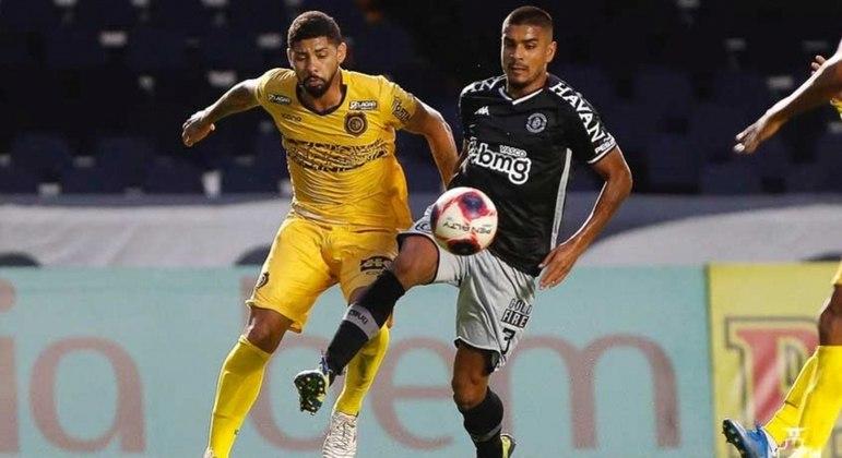 Léo Matos deu duas assistências na vitória do Vasco para cima do Madureira