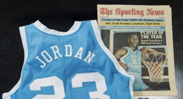 Michael Jordan é considerado o maior jogador de basquete de todos os tempos