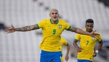Pedro celebra gols pela Seleção Brasileira e mira as Olimpíadas