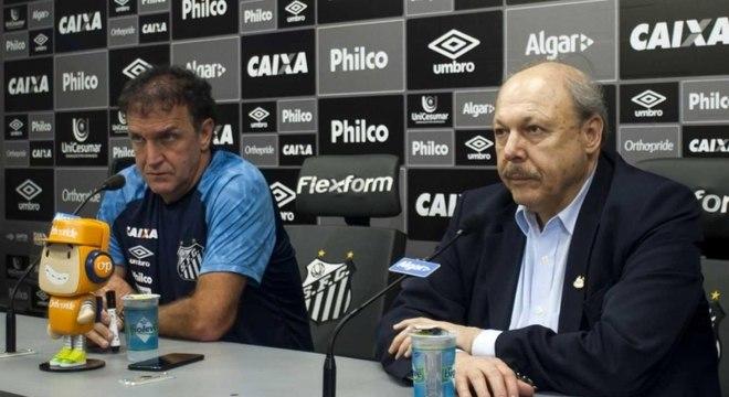 Cuca ajudou o Santos a fugir do rebaixamento em 2018