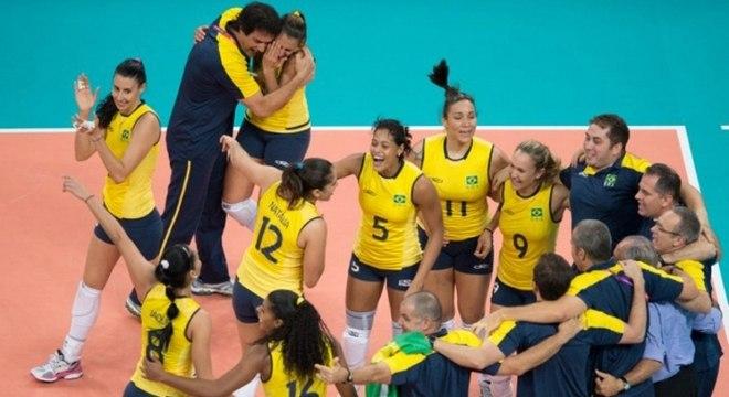 Vôlei feminino do Brasil superou a Rússia nas Olimpíada de Londres