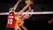 Carol Gattaz é a única jogadora do Brasil na 'seleção' da Olimpíada