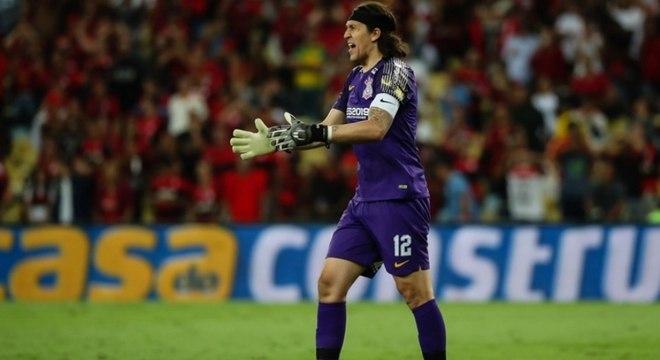 Cássio foi mal no gol que decretou o empate entre Corinthians e Ceará