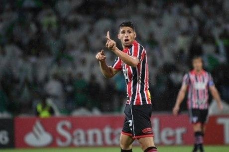 Jonathan Calleri atuou pelo São Paulo em 2016