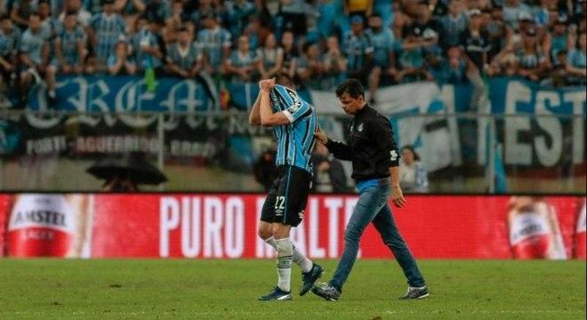 Zagueiro falhou na semifinal da Libertadores contra o River Plate
