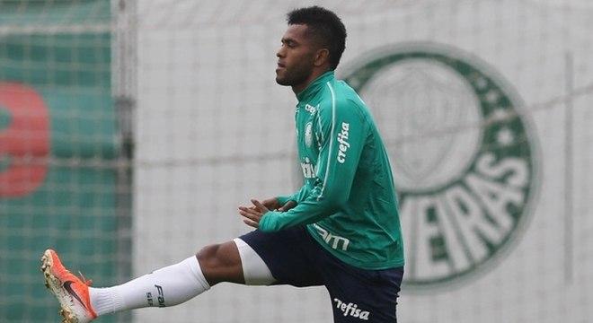 Borja perdeu espaço no Palmeiras com a chegada de Mano Menezes