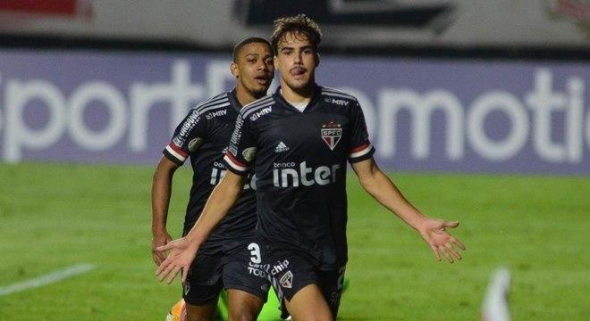 Igor Gomes marcou o gol que deu a vitória ao São Paulo