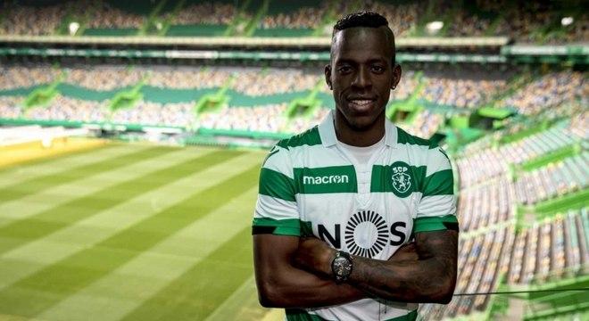Borja está com 27 anos e atua no Sporting, de Portugal