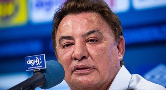 Zezé Perrella lamentou o primeiro rebaixamento da história do Cruzeiro