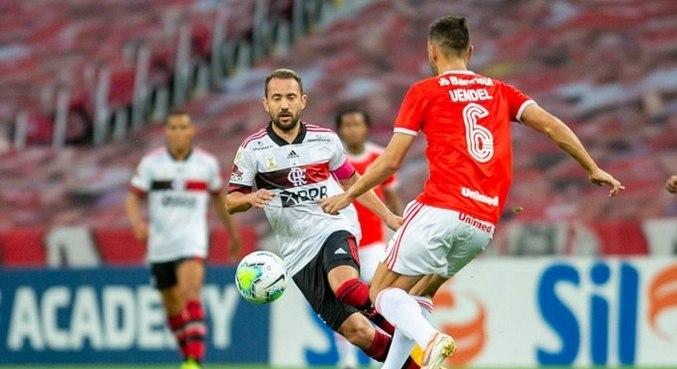 Flamengo empatou com o Internacional no Beira-Rio