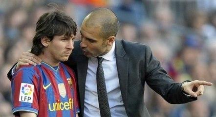 Messi voltaria a trabalhar com Guardiola no City