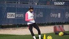 Neymar não se recupera e está fora da partida contra o Barcelona