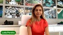 Leila Pereira critica preço de ingresso para jogos do Palmeiras