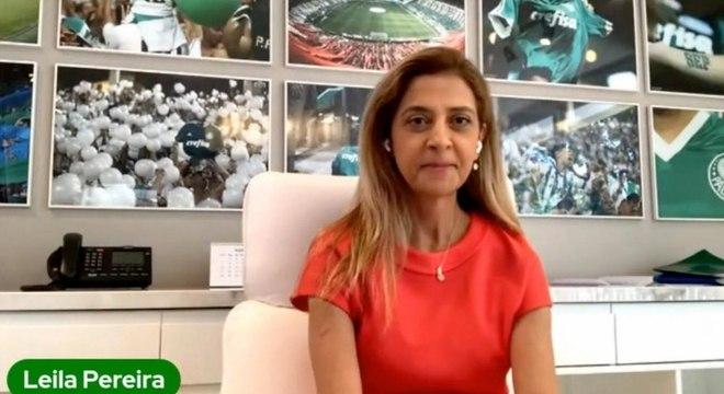 Leila Pereira critica preço de ingressos no Allianz Parque, estádio do Palmeiras